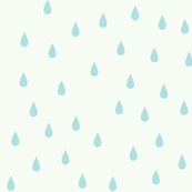 RAINDROPS BABY BLUE
