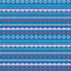 GEOSTRIPE BLUE