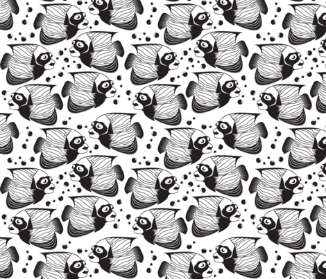 aquatic animals fabric by puggles on Spoonflower - custom fabric