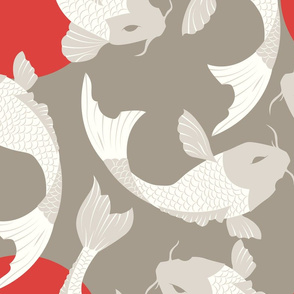 Koi fish pattern 002