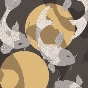 Koi fish pattern 003