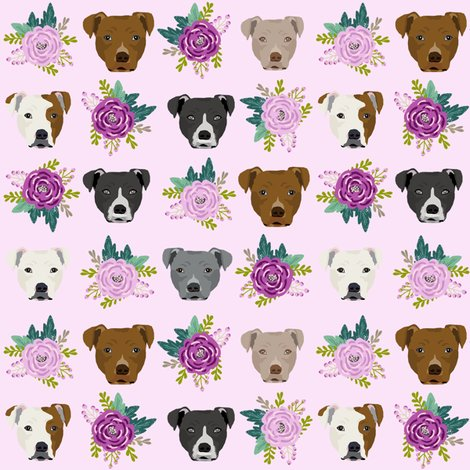Rpitbull_mixed_florals_purple_light_shop_preview