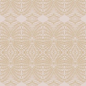 Spider Web (Sienna on Blush)