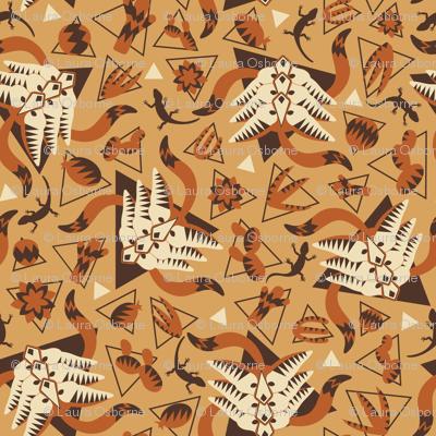 Desert fennec fox