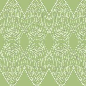 Lace Shield (Green)