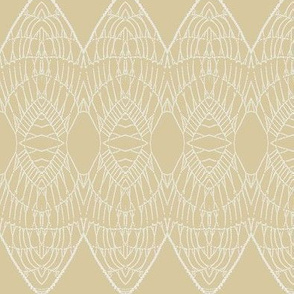 Lace Shield (Beige)