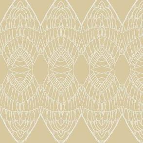 Lace Shield (Beige)