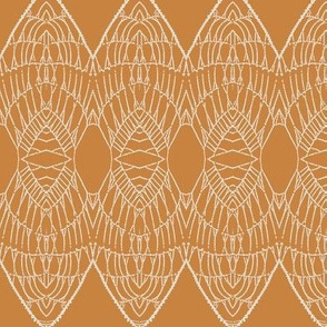 Lace Shield (Pumpkin)