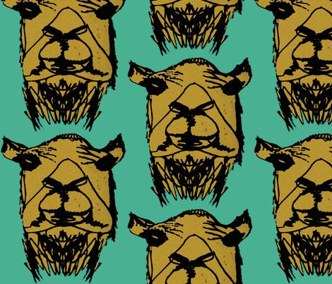 CAMEL fabric by lesliecassidy on Spoonflower - custom fabric