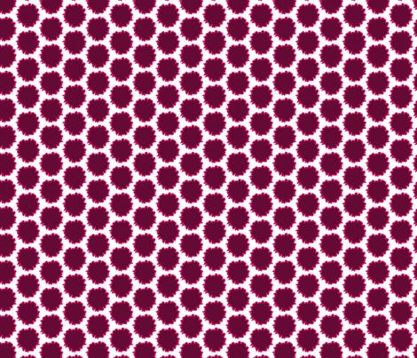 Pink Magenta Plum Rough Circles Graphic_Miss Chiff Designs fabric by misschiffdesigns on Spoonflower - custom fabric