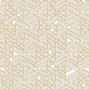 Desert  Geo (taupe linen)