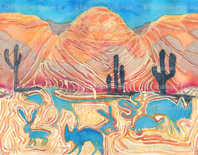 Desert Animal Spirits