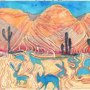 Desert Animal Spirits