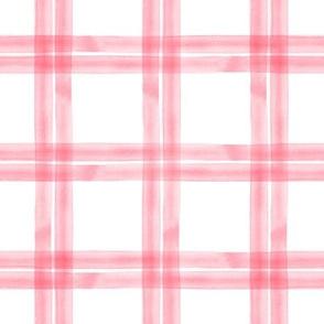 spring plaid || pink