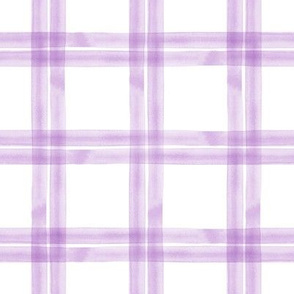 spring plaid || purple double