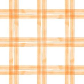 spring plaid || orange double