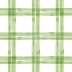 spring plaid || greenery double