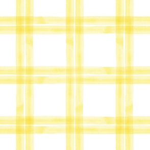 spring plaid || yellow double