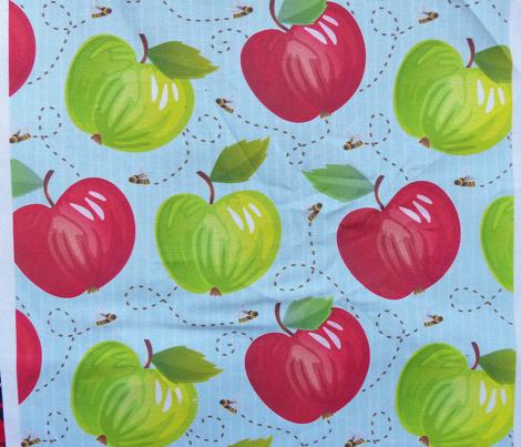 Fresh Apples - Light - Blue