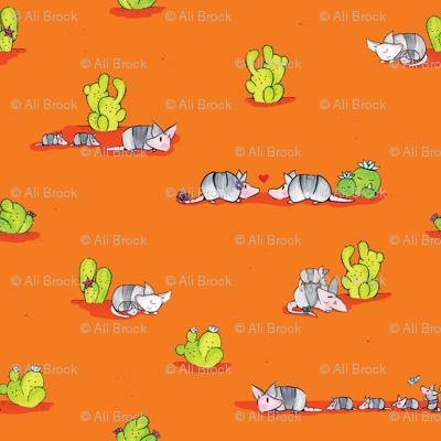 Desert Armadillos