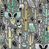 desert owls