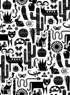 desert friends (black)