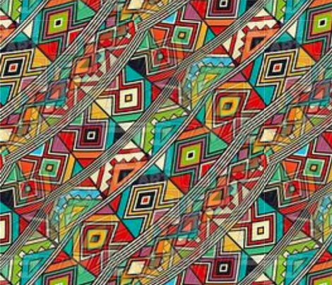 Djellaba Dream fabric by floramoon on Spoonflower - custom fabric