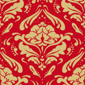 Epoque flower pattern