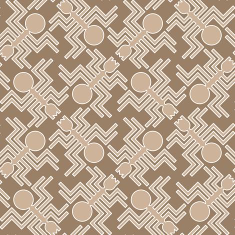 06103914 : nazca lines : desert spider fabric by sef on Spoonflower - custom fabric