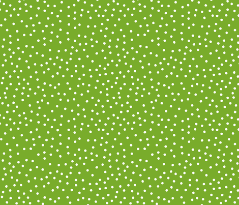 Dimples (on green) fabric by cerigwen on Spoonflower - custom fabric
