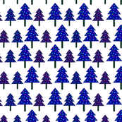 Christmas Trees // Dark Purple