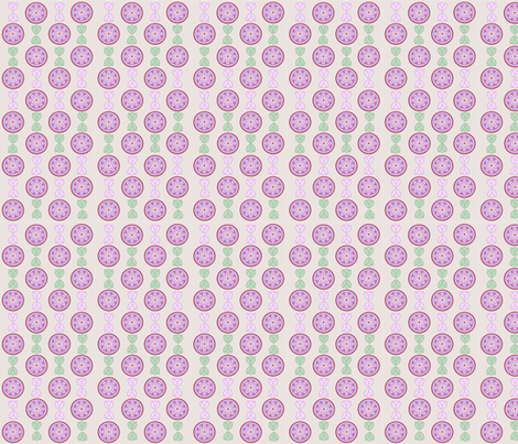 flowersncircles fabric by snap-dragon on Spoonflower - custom fabric