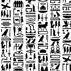 Egyptian Hieroglyphics // Small