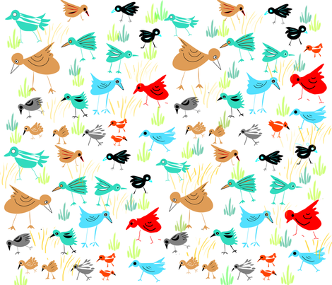 DESERT_BIRDS-new fabric by soobloo on Spoonflower - custom fabric