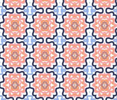 Medallion Medley  fabric by franbail on Spoonflower - custom fabric