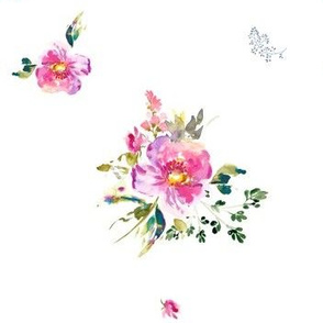 "7"" Bohemian Dreams Florals"