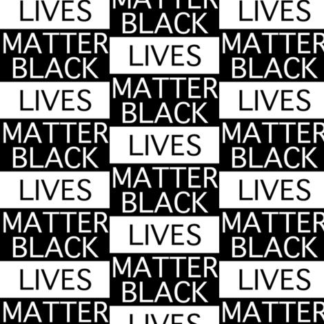 Black Lives Matter Tiled fabric by jpgmarks on Spoonflower - custom fabric