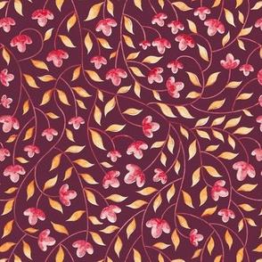 Botanical: Maroon Vine