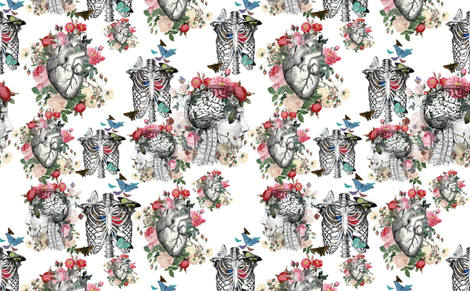 A_large_fabric_Custom_Order fabric by aftermyart on Spoonflower - custom fabric