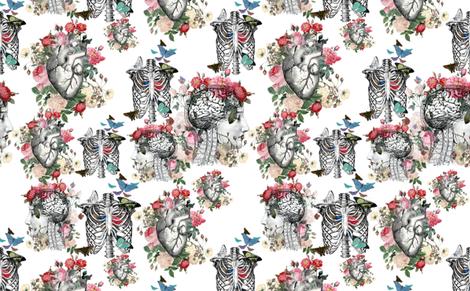 A_large_fabric_Custom_Order fabric by aftermyart on Spoonflower - custom fabric