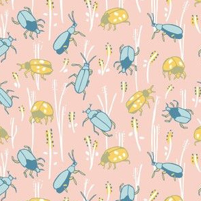 Bugs in pink
