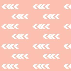arrowheads petal pink