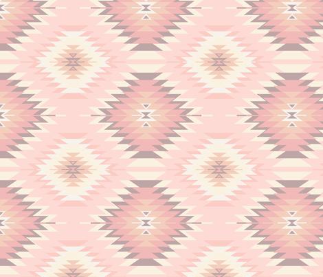 Soft Navajo fabric by bohemiangypsyjane on Spoonflower - custom fabric