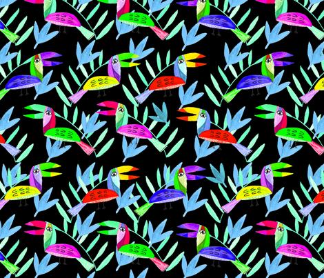 RAINFORESTANIMALS fabric by ana_harrill on Spoonflower - custom fabric