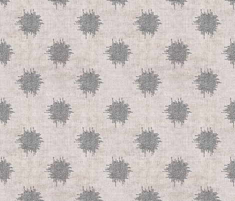 FRENCH_LINEN_IKAT_DOT fabric by holli_zollinger on Spoonflower - custom fabric