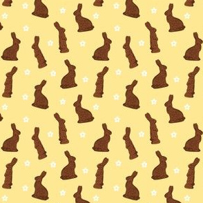 Cocoa Bunnies Small - Yellow