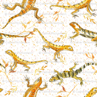 Earth Tone Lizards