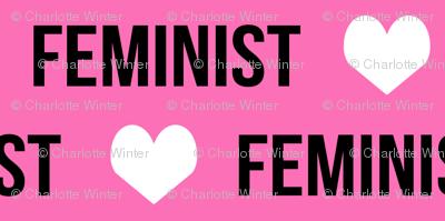 feminist fabric girls text girl fabric girl design