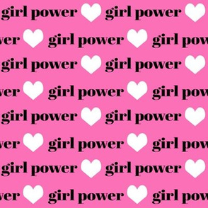 girls fabric girls text word girl power fabric