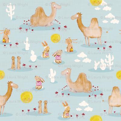 Camels, meerkats and rabbits